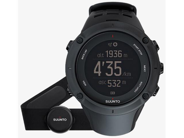 Suunto Ambit3 Peak HR GPS Outdoor Horloge, black